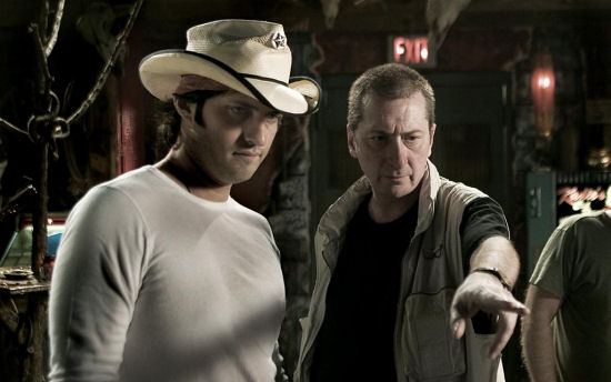 Co-directors Robert Rodriguez and Frank Miller