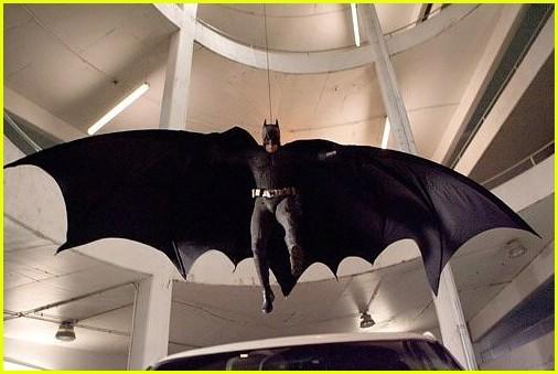 Batman crashes in on a villain's lair.