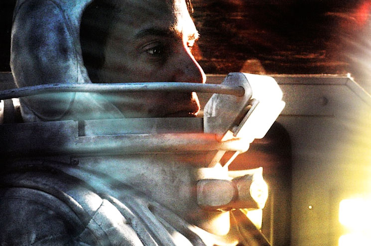 Sam Rockwell as MOONS isolated astronaut