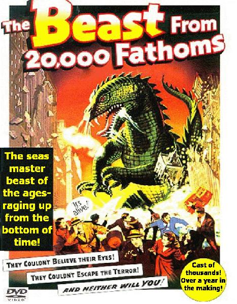 18394D7976 Beast from 20,000 Fathoms (1953)