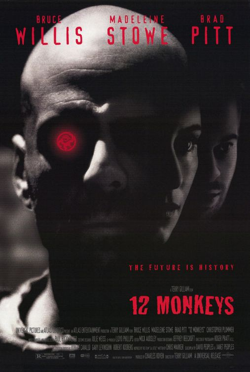 25FD004846 12 Monkeys (1995)   Science Fiction Film Review