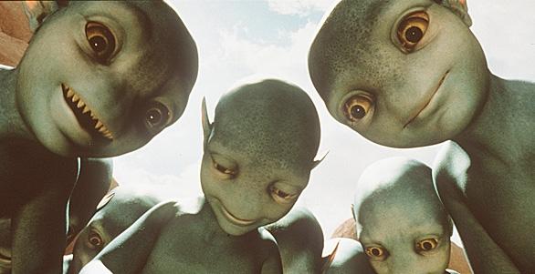 Some dangerous aliens that our TV stars encounter