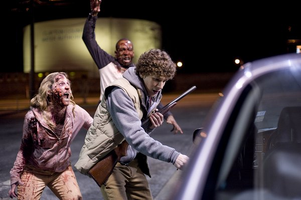 Coumbus (Jake Eisenberg) avoids zombies.