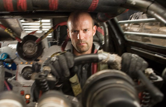 Jason Statham stars in the remake of DEATH RACE 200