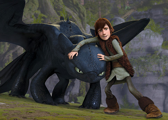 DreamWorks 3D fantasy film HOW TO TRAIN YOUR DRAGON