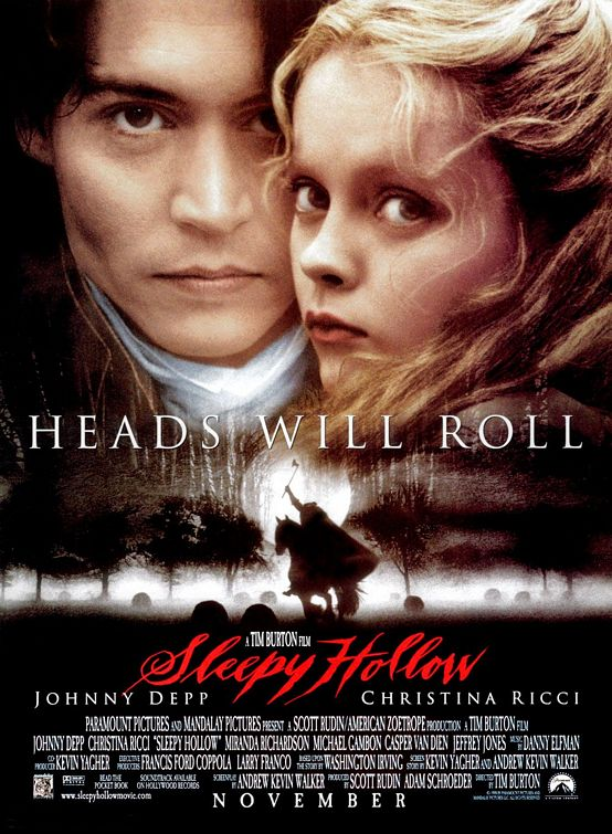 53CC59FA75 Sleepy Hollow (1999)   Film & DVD Review