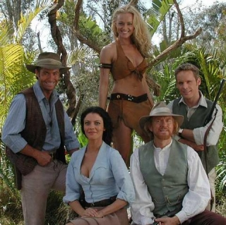 Cast of the LOST WORLD TV series, which ran for three years