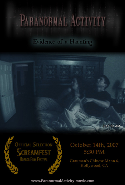 Paranormal Activity - Horror Film Review