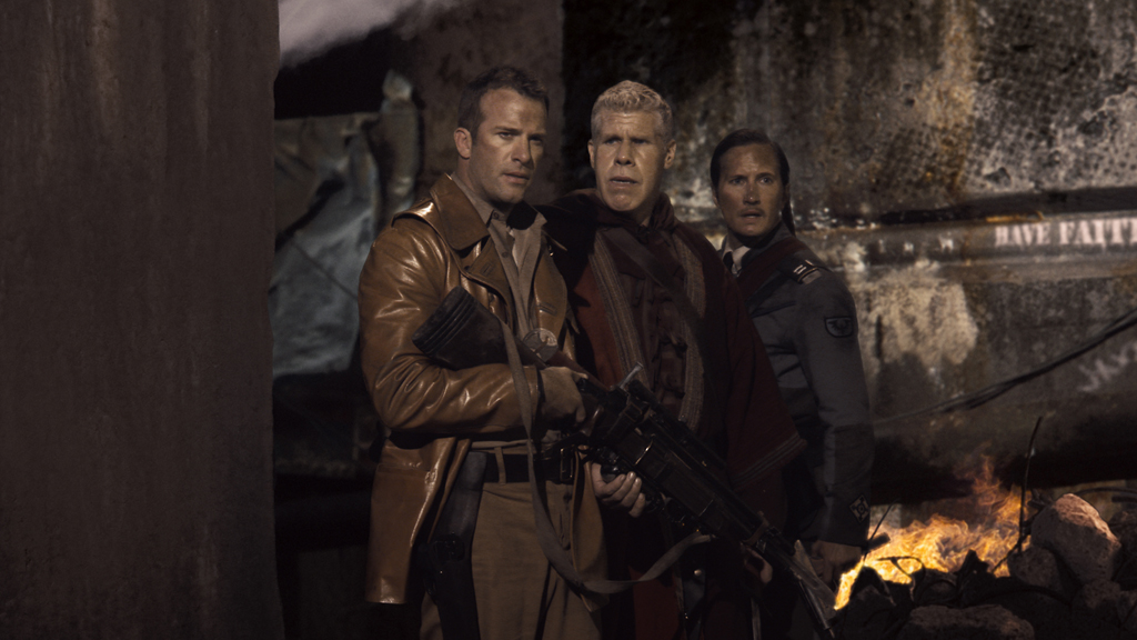 Thomas Jane, Ron Perlman and Benno Furmann
