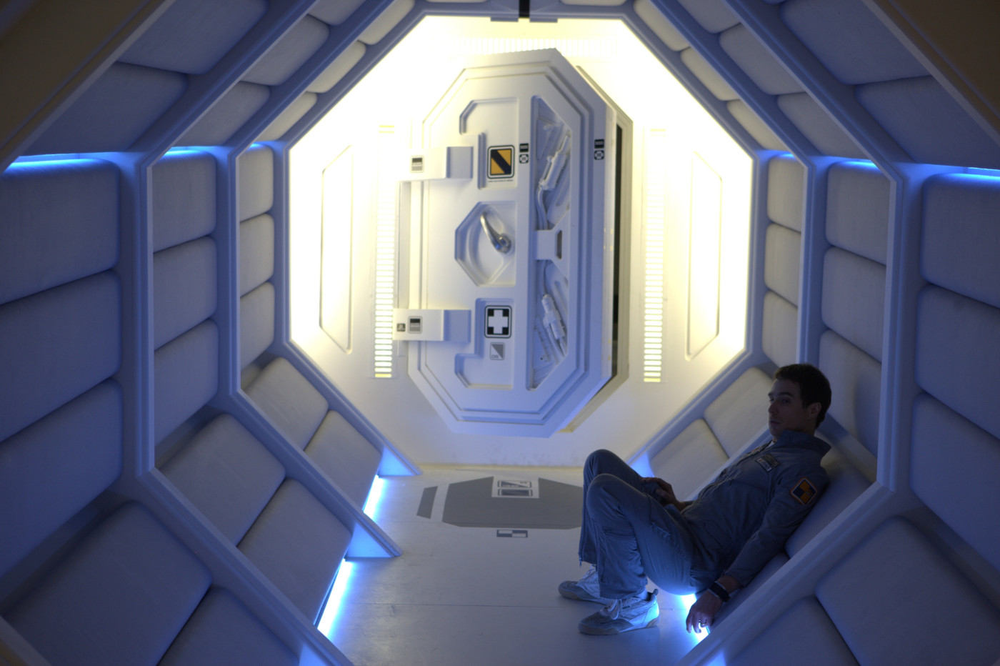 Sam Rockwell as the films lonely astronaut