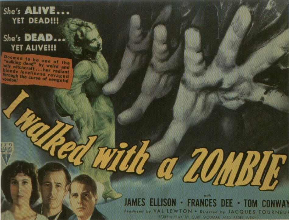 72A03F5864 I Walked with a Zombie (1943)   DVD Review