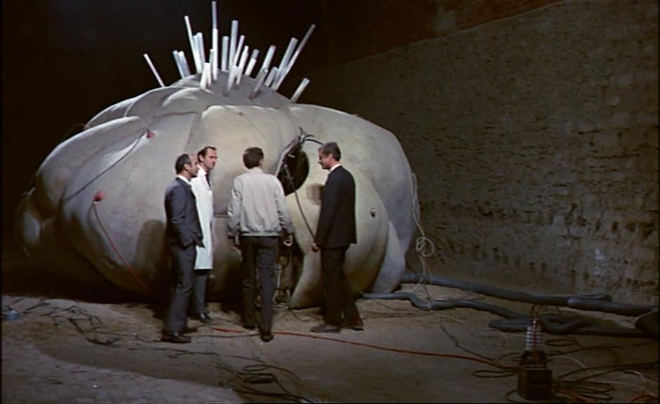 The time machine from Alain Resais art house film
