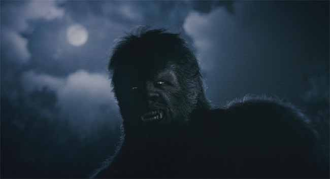 In a restored scene, we get an early glimpse of the first werewolf.