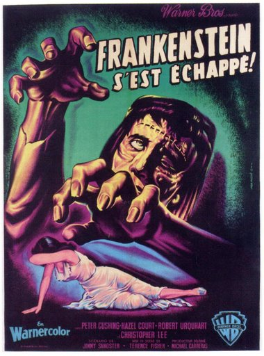 Foreign language poster for the British horror film