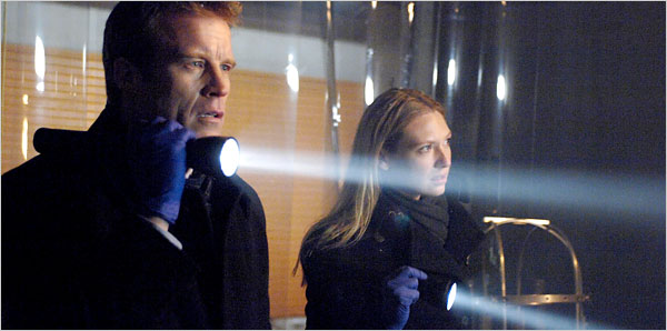 Mark Valley and Anna Torv in the series from J. J. Abrams