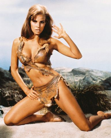 Raquel Welch in ONE MILLION YEARS, B.C.