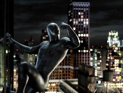 Spider-Man 3 explores the superhero's dark side.