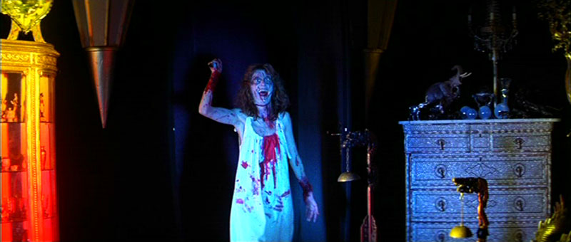 Sara (Stefania Casini) comes back from the dead - as a zombie controlled by Helana Markos (a.k.a. Mater Susperiorum).
