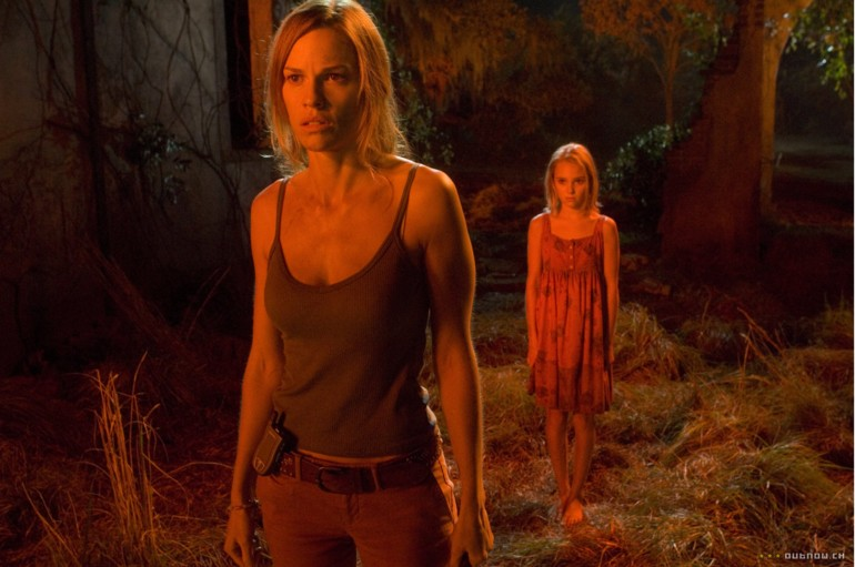 THE REAPING's blonde moppet is no Damien Thorne.
