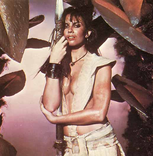 Caroline Munro in AT THE EARTH'S CORE
