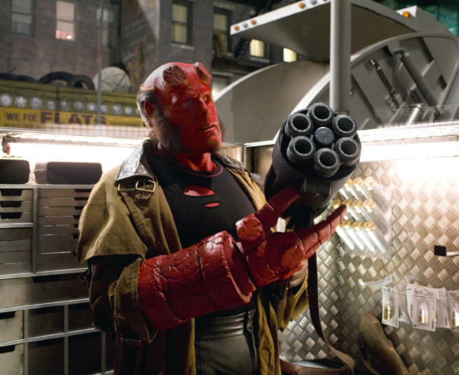 Ron Perlman in HELLBOY 2: THE GOLDEN ARMY