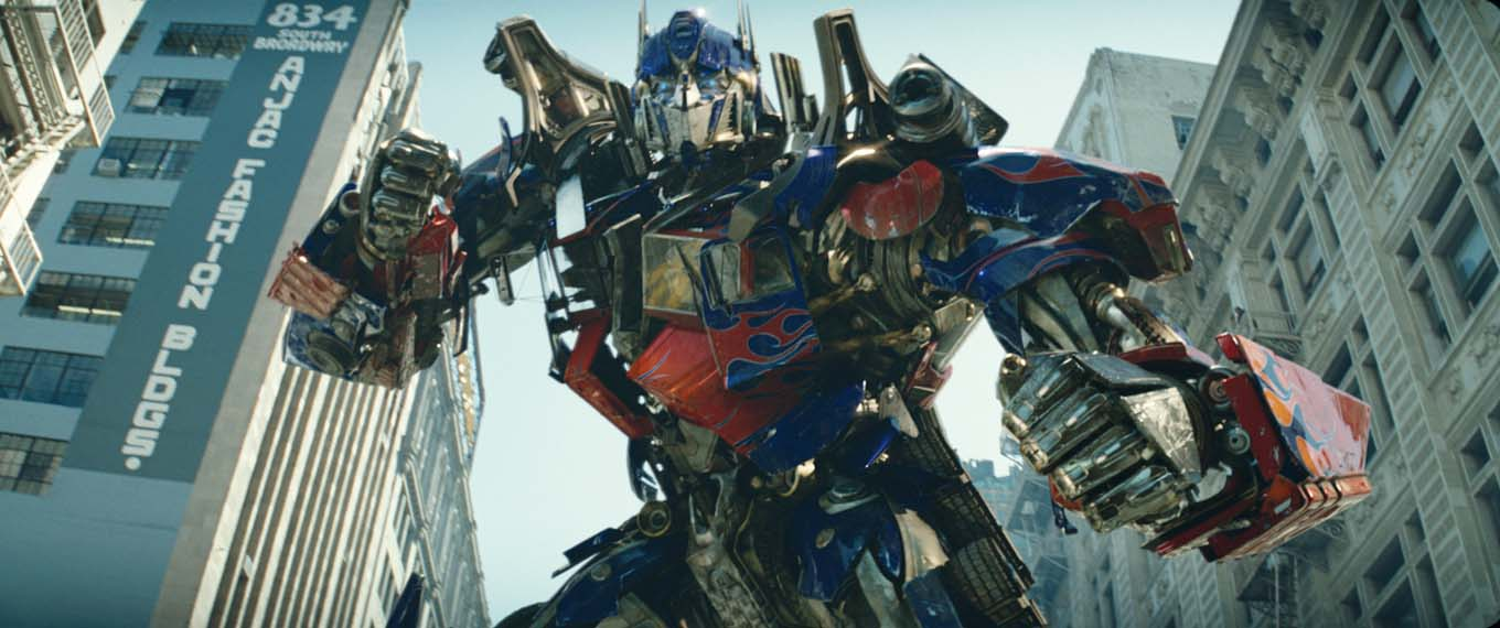 Optimus Prime - one of the good autobots.