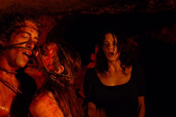 Asia Argento descends into the depths of the Third Mother's lair.