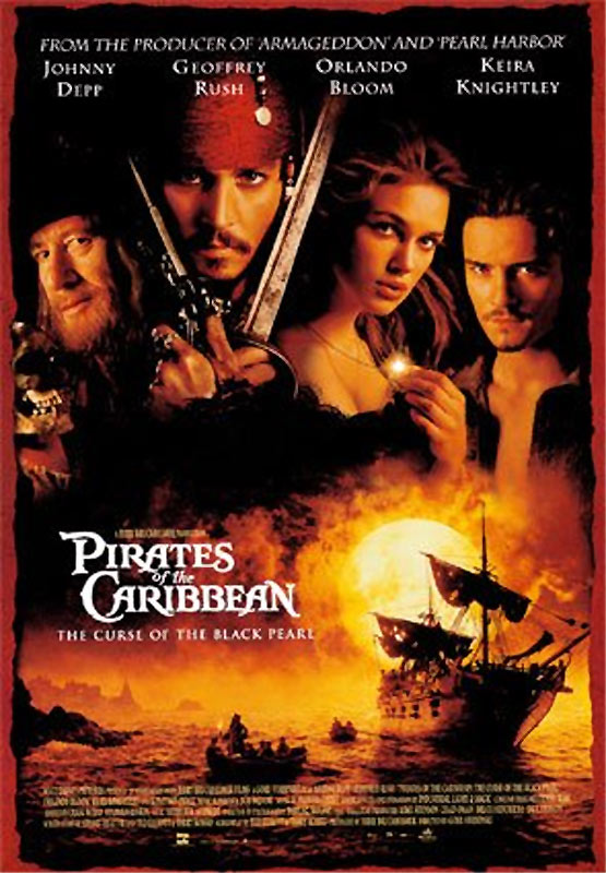 BABC1DDA41 Pirates of the Caribbean: Curse of the Black Pearl (2003)   Film & DVD Review