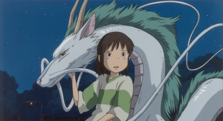 Chihiro and the dragon Haku