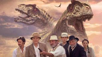 Bob Hoskins stars as Professor Challenger in this BBC TV adaptation.