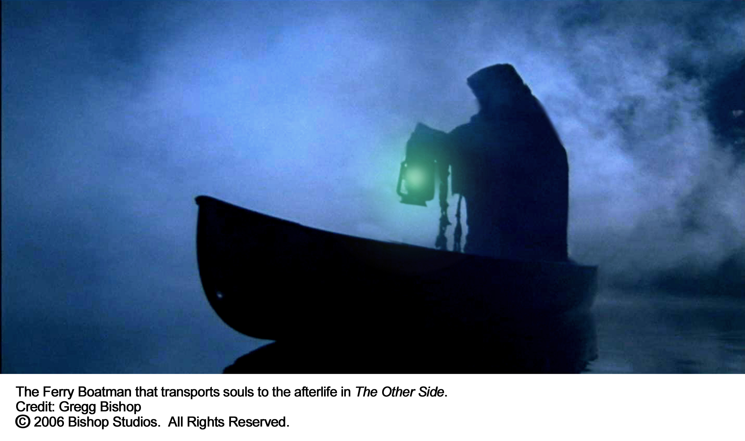 The Ferry Boatman who transports souls to the Afterlife.