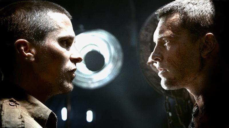 Christian Bale and Sam Worthington