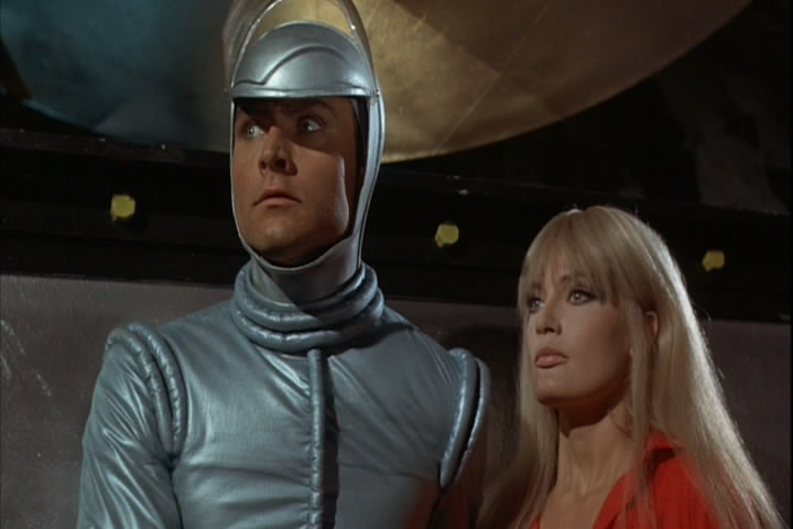John Phillip Law and Marisa Mell in DANGER: DIABOLIK