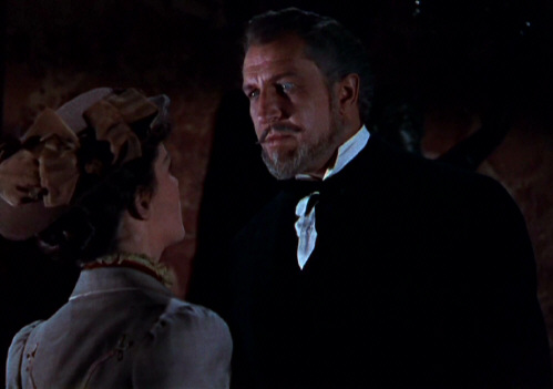 Phyllis Kirk and Vincent Price