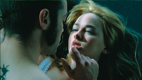 n O'Keefe (Jess Weixler) about to put the bit on her sleazy step-brother.