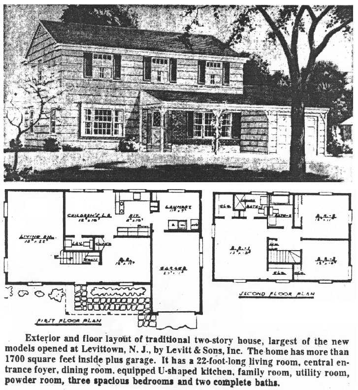 Levittown new jersey houses levittownbeyond profile of house c colonial malvernweather Images