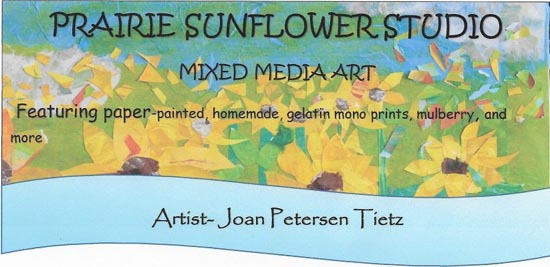 Prairie Sunflower Studio Banner