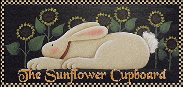 Sunflower Cupboard banner